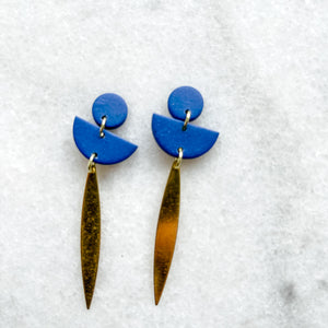 Brené Feather Drop Dangles