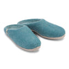 Felted Wool Mule Slippers