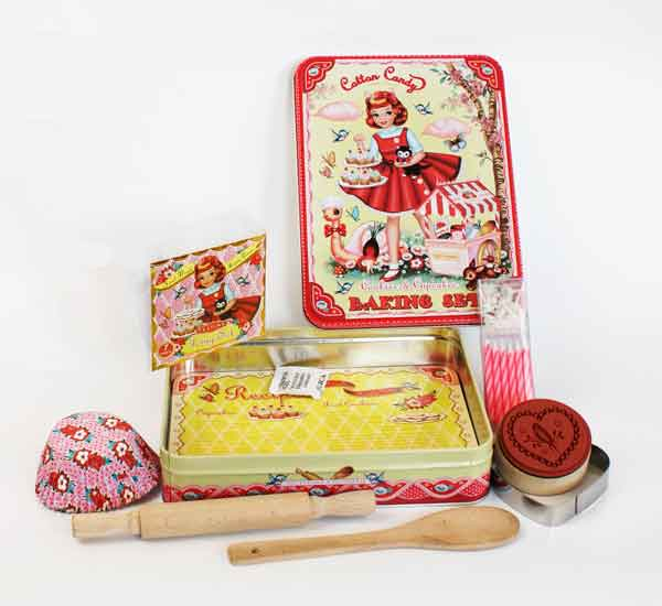 Cotton Candy Baking Kit