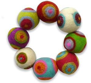 Fiesta Fandangle Felting Bracelet Kit