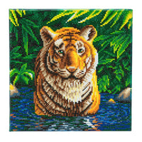 """Tiger Pool"" 30 x 30cm (Medium)"