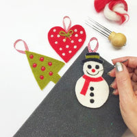 "Christmas Needle Felting Decorations Kit ""I Believe"""