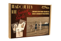 "Marquetry Kit ""Sunset Girls"""