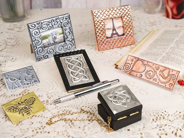 Metal Embossing Kit - Beginners Kit 7 Projects