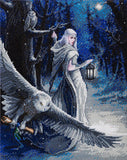 """Midnight Messenger"" 40 x 50cm (Large) - Anne Stokes"