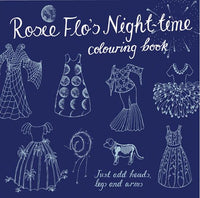Rosie Flo's Nighttime Colouring Book