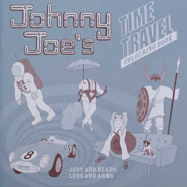 Johnny Joe's Time Travelling Colouring Book