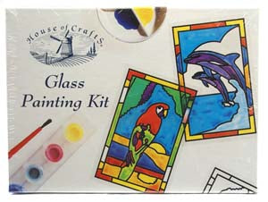 Glass Painting Craft Kit