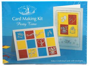 Card Making Kit- Party Time