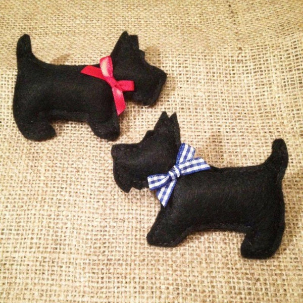 Scottie Dogs Felting Kit