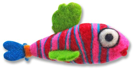 Submersible Percival Needle Felting Fish Kit