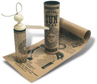 Portable Sundial Activity Kit