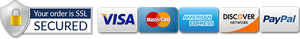 SECURE CHECKOUT We use encrypted SSL security to ensure that your credit card information is 100% protected.