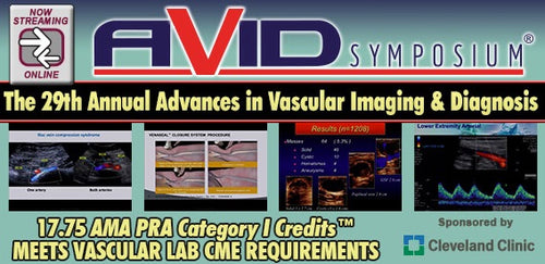 29th Annual Advances in Vascular Imaging and Diagnostics 2019