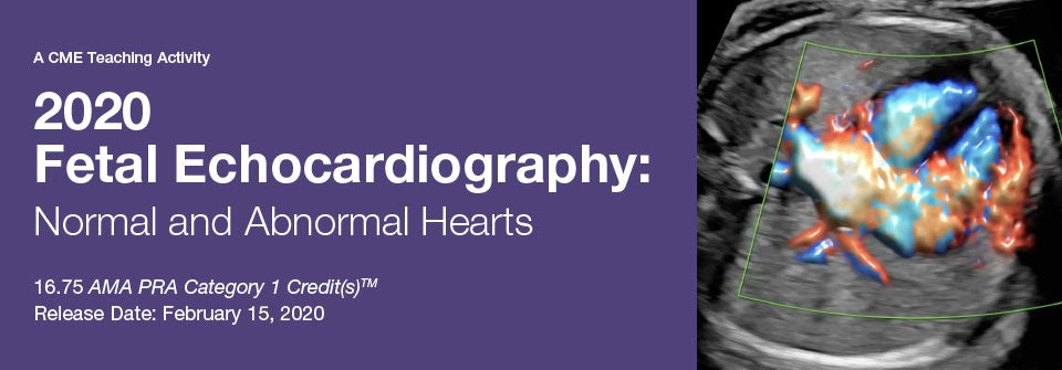 2020 Fetal Echocardiography: Normal and Abnormal Hearts