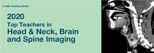 Top Teachers in Head & Neck, Brain and Spine Imaging 2020