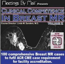 Clinical Competence in Breast MR, vol. 2