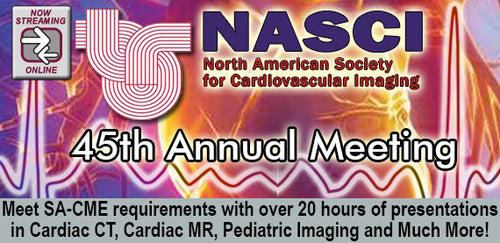 Cardiovascular Imaging 2018 - NASCI 45th Annual Meeting