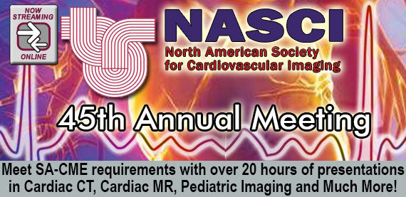 Cardiovascular Imaging - NASCI 45th Annual Meeting