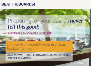 Child & Adolescent Psychiatry Board Review Course (Videos+PDFs)
