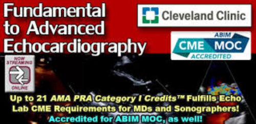 Cleveland Clinic Fundamental to Advanced Echocardiography 2017