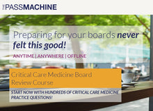 Thepassmachine Critical Care Medicine Board Review Course (Videos+PDFs)