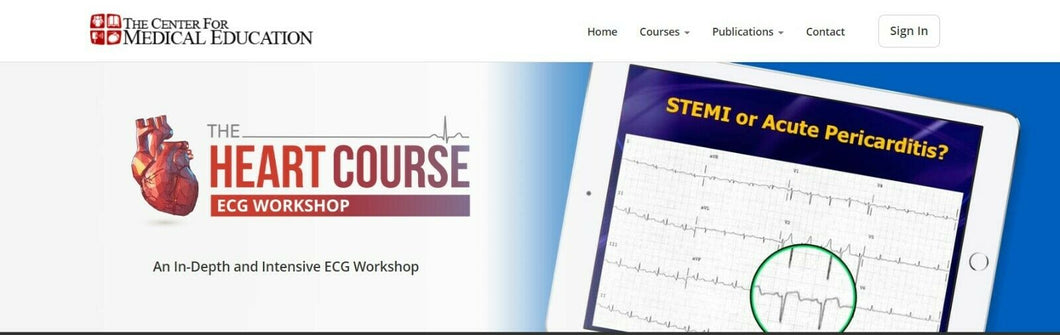 ECG workshop + Heart course 2019