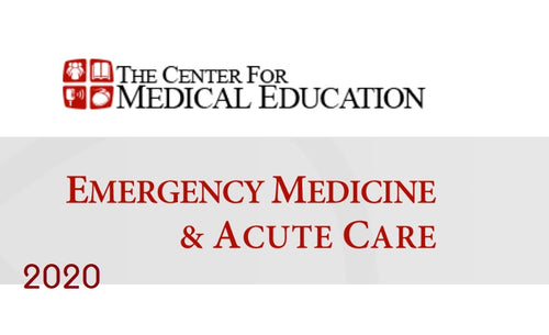 Emergency Medicine and Acute Care 2020