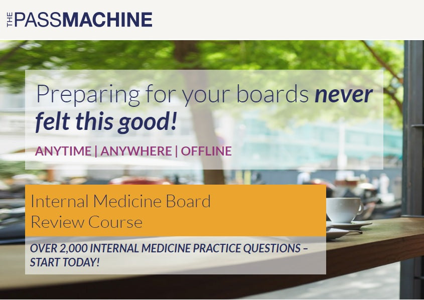 Thepassmachine Internal Medicine Board Review Course (Videos+PDFs)