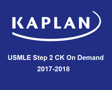 KAPLAN USMLE Step 2 CK Prep – On Demand 2017-2018