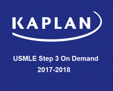 KAPLAN USMLE Step 3 Prep – On Demand 2017-2018