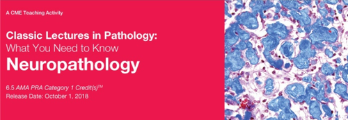 Classic Lectures in Pathology: What You Need to Know: Neuropathology 2018