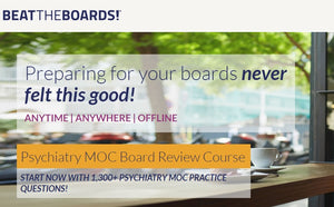 Psychiatry MOC Board Review Course (Videos+PDFs)