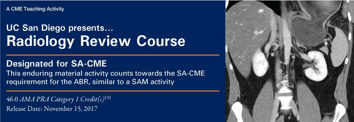 UC San Diego Radiology Review Course 2017