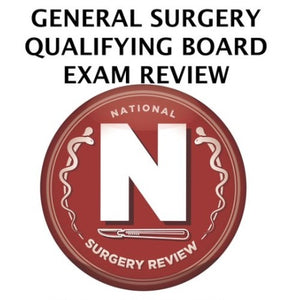 General Surgery Qualifying Board Exam Review Courses 2019
