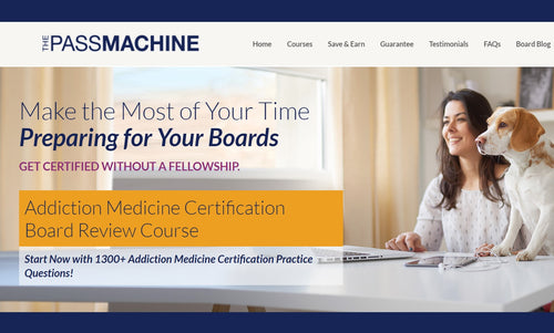 ThePassmachine Addiction Medicine Board Review Course 2018