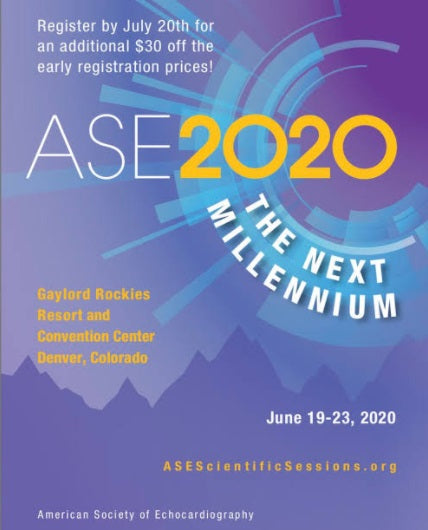 ASE Scientific Sessions 2020