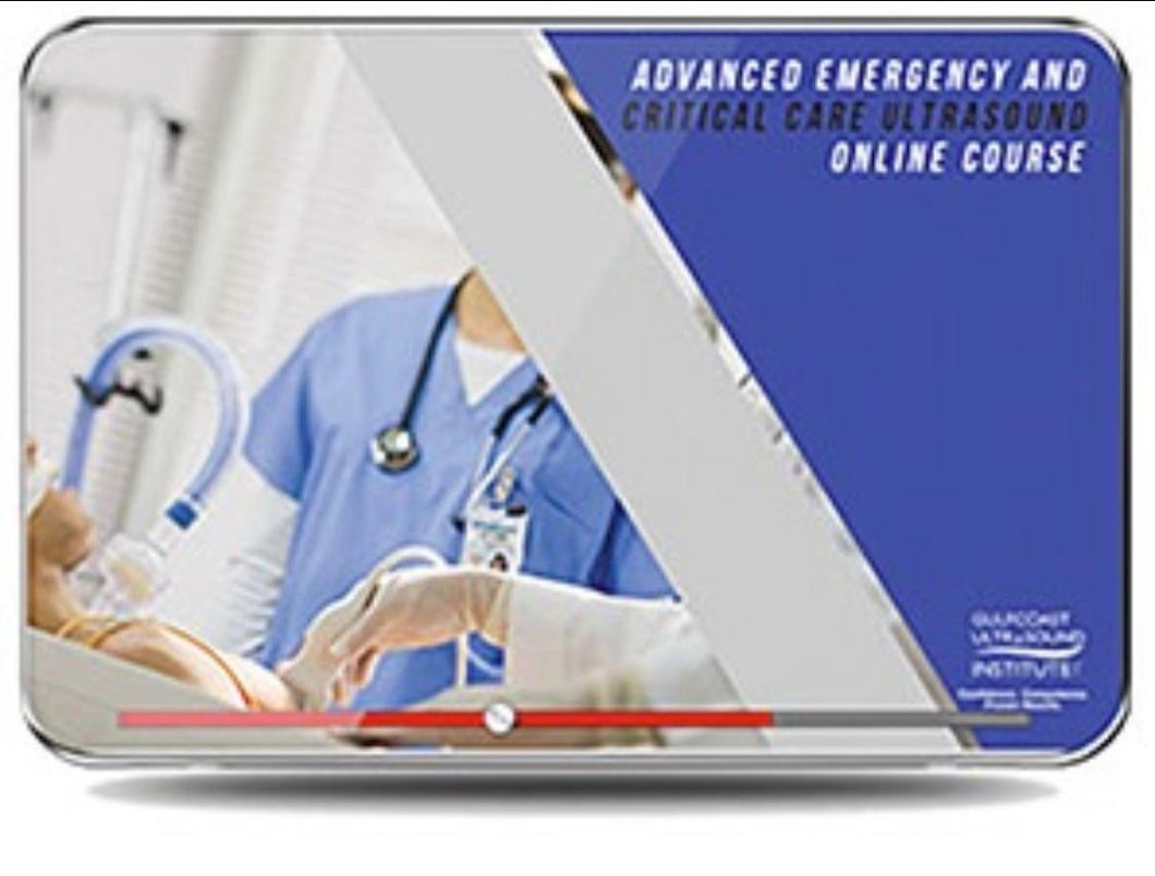 Advanced Emergency Medicine and Critical Care Ultrasound Goulf coast 2019