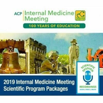 ACP Internal Medicine Meeting & Pre-Courses 2019