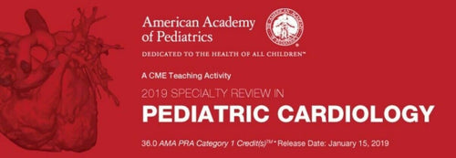 Specialty Review In Pediatric Cardiology 2019