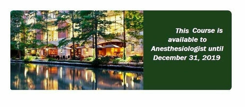 Anesthesiology Review Course 2017