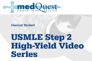MedQuest USMLE Step 2 High-Yield Video Series 2020