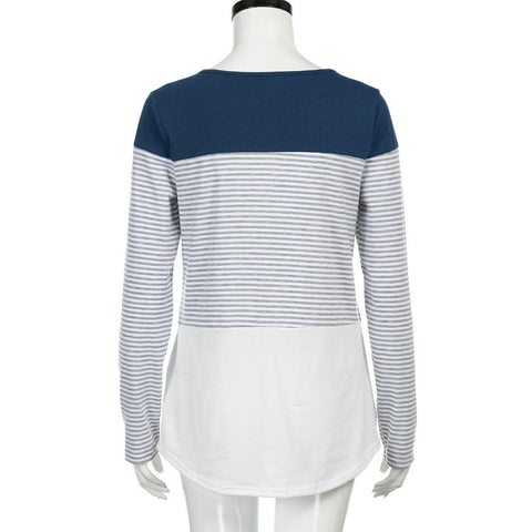 Women´s Long Sleeve Striped
