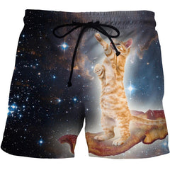 Space Cat Shorts