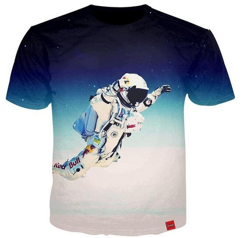 Floating Astronaut T-Shirt
