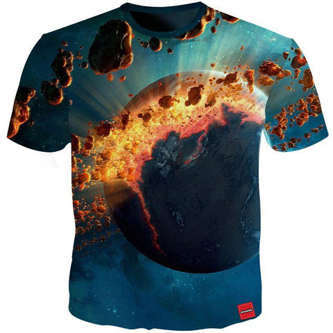 Space Asteroids Tee