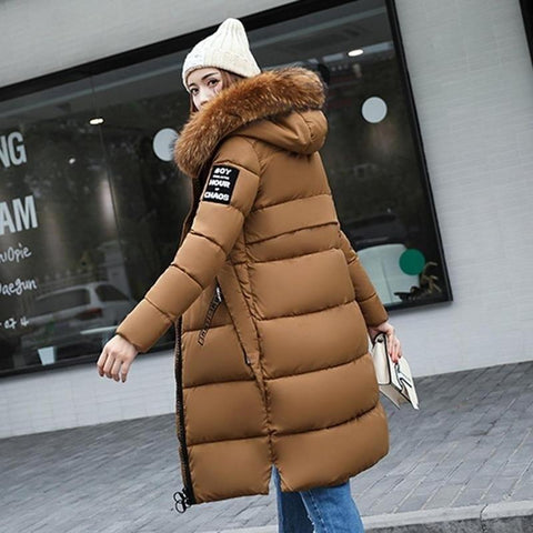 Women´s Padded Fur Coat