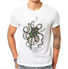 Men´s Harajuku Octopus T-shirt