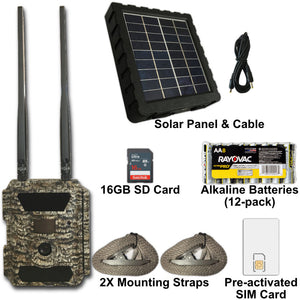 RangeCam 4G Essentials + Solar Bundle