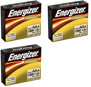 AA Alkaline Batteries, 12-pack (Bundle Pricing)
